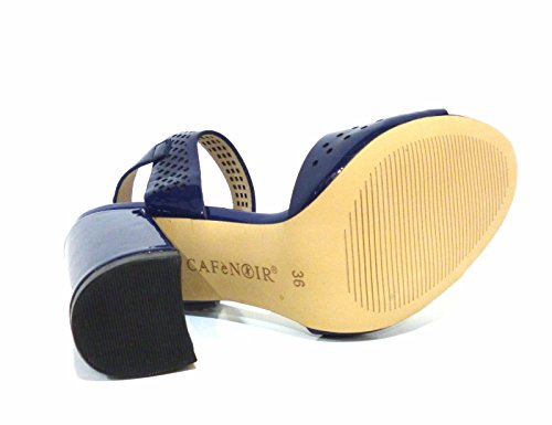 In Blu Vernice Mnf303 2253 Laserata Sandalo E17 Cafènoir qx6TSpEw6n