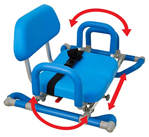 (Platinum Health Bath and Shower Chair with Padded Swivel Seat)