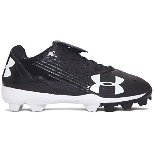 Baby Golf Shoes (Under Armour Kids Baby Boy's UA MLB Switch Low Jr. Baseball (Toddler/Little Kid/Big Kid) Black/Black 3 M US Little Kid)