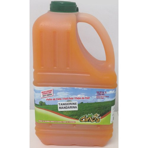 Tangerine Fruit Pulp Puree Frozen - 64 oz (Pack of 6)