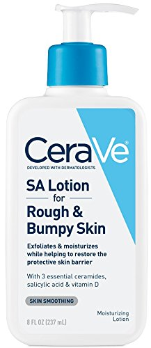 CeraVe Renewing SA Lotion 8 oz Salicylic Acid Body Moisturizer for Rough and Bumpy Skin