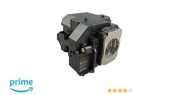 Supermait EP58 Lámpara de Repuesto para proyector con Carcasa ...