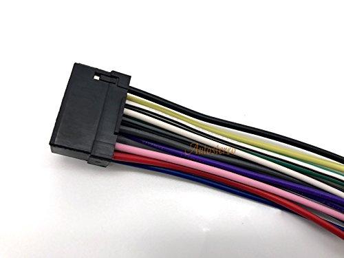 ZWNAV norma ISO con adattatore Radio ISO cablaggio 15-001-Cavo connettore adattatore per autoradio ALPINE CDA ALPINE CDE CDM CVA ARP