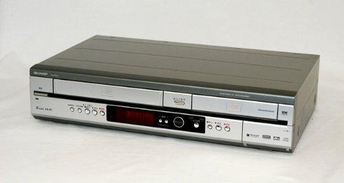 SHARP シャープ DV-RW60 ビデオ一体型DVDレコーダー(VHS/DVDレコーダー) 外付け地デジチューナー対応 B00KJ8UWCO