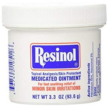 Resinol Medicated Ointment 3.3Oz By by Resinol