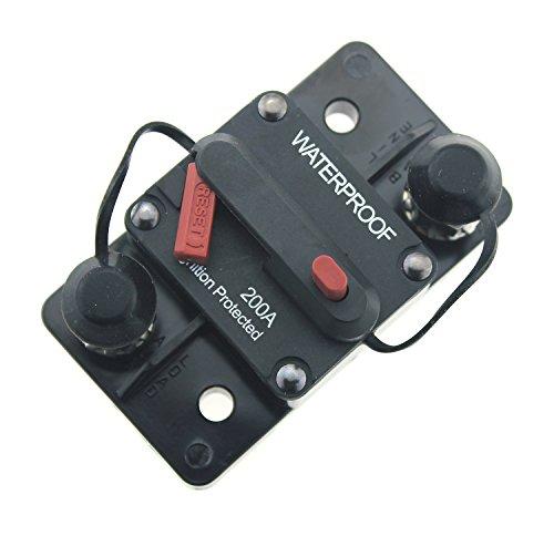 200a Circuit Breaker (IZTOSS 200 Amp Circuit Breaker with Manual Reset)