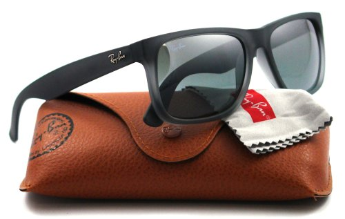 Ray Ban 4165 Mens Black Rectangle Sunglasses 601/8g 51mm