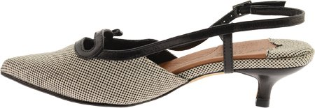 Rozenblaadjes Door Walking Cradles Womens Liza Black / Ivory Woven