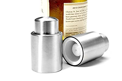 Breendis - Stainless Steel Vacuum Wine Stopper