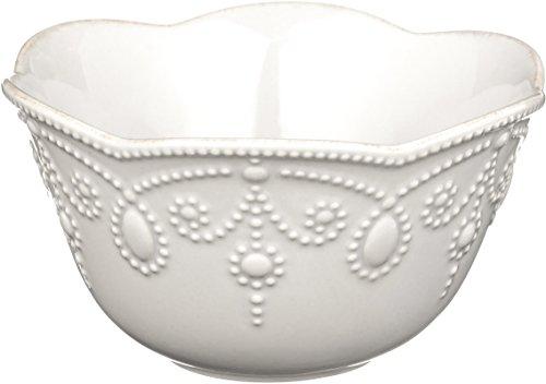 Lenox French Perle Fruit Bowl, White - Bowl Dinnerware Fruit