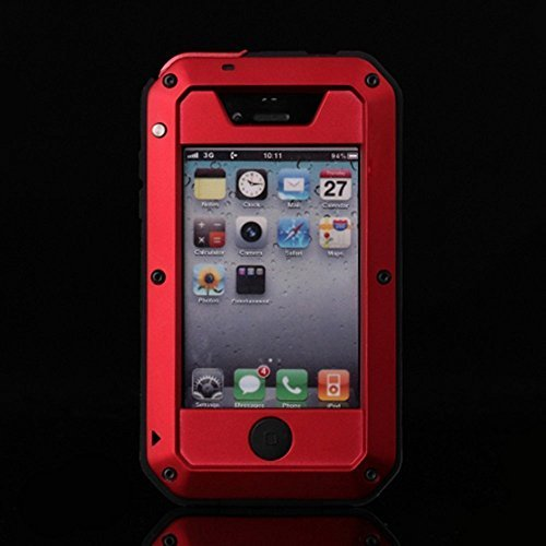 red 4s iphone cases - 4