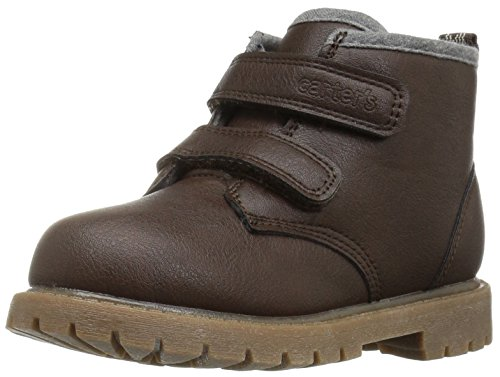 Image of Carter's Boys' Gyor Fashion Boot, Brown, 6 M US Toddler