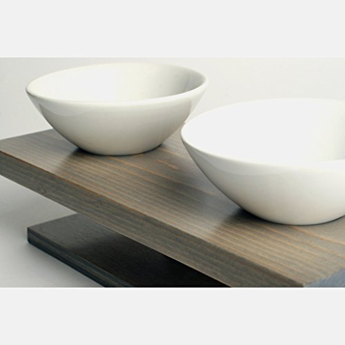 ceramic cat bowl set - 9