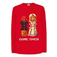 Funny t shirts for kids Long sleeve The Game is Over