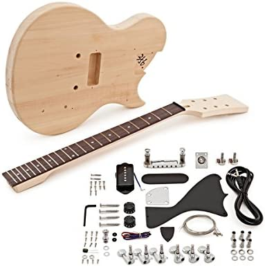 Kit de Bricolaje de Guitarra Electrica New Jersey Jr: Amazon.es ...