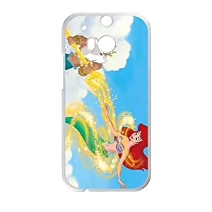 HTC One M8 White phone case Disney Cartoon Little Mermaid II, The Return to the Sea EYB7290626