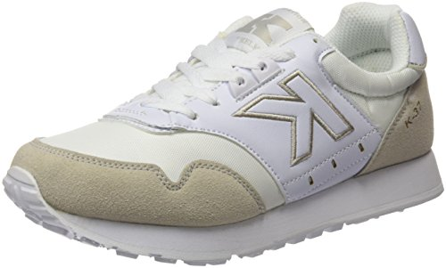 Kelme K-37, Zapatillas Unisex Adulto Blanco