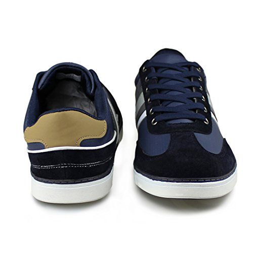 navy Men's Comfortable Fashion Sneakers 1833 Lace Hawkwell Casual up 8xwPqddI