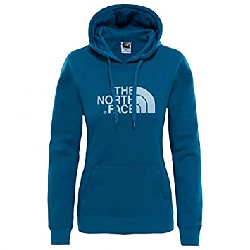 98ef9b79aa The North Face - Drew Peak Pull HD - Sweat à Capuche pour Femme L Blu