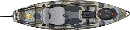 2017   Kayak Package with  Rudder Kit, Free Vamo Tie Down Set and Vamo Rack Pads (Desert Camo) - FeelFree Lure 11.5
