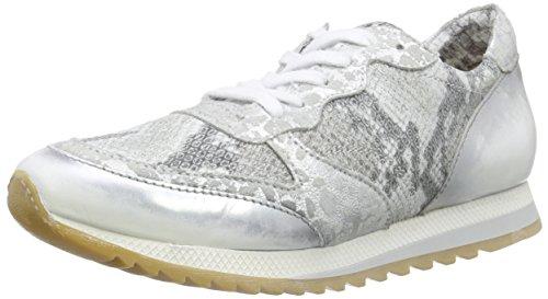 Mjus646105 - Zapatillas Mujer Multicolor - Mehrfarbig (Argento+Bianco+Bianco+Bianco+Argento)