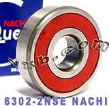 6302 bearing - 6302-2NSE Nachi Bearing 15x42x13 Sealed C3 Japan Ball Bearings