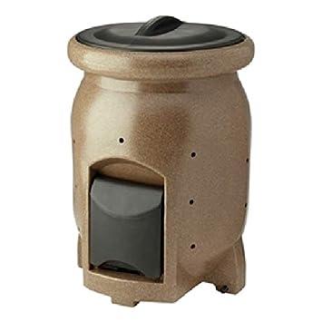 Cubo de compost de 50 galones con compost, colección de té, compost, cocina, cubeta de acero: Amazon.es: Hogar