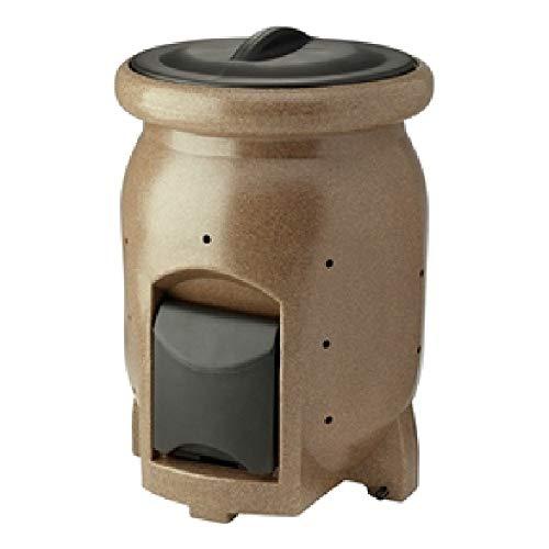 Cubo de compost de 50 galones con compost, colección de té ...