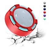 HelloPower Amazon Echo Dot Case Silicone Case Holder Fits Amazon Echo Dot 2nd Generations Only Use Amazon Echo Dot 2nd (Red)