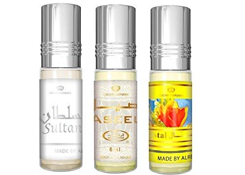 Al-Rehab 6ml Perfume Oils - Bestsellers 13 thru 15 - Sultan - Aseel – Crystal