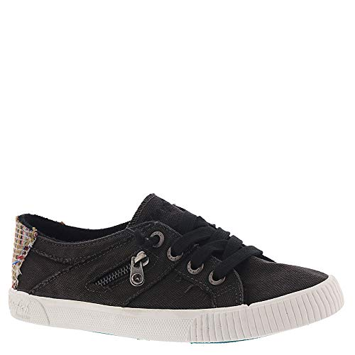 New Blowfish Women's Fruit Sneaker Black Smoked Canvas 9