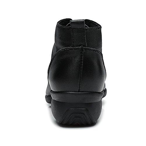 Danza Zapatos Danza HIPPOSEUS de ESB63 la Negro señoras la Las Modernos Las Elegantes Jazz Mujeres Modelo Zapatos Deporte de de Zapatillas de del para I6w6vrSq