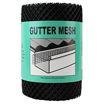 Home X Gutter Guards Roll Leaf Guard 6 Inch X 20 Feet