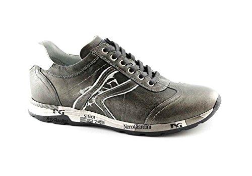 Jardines Black 16190 calzado deportivo gris cordones de zapatillas casuales Grigio