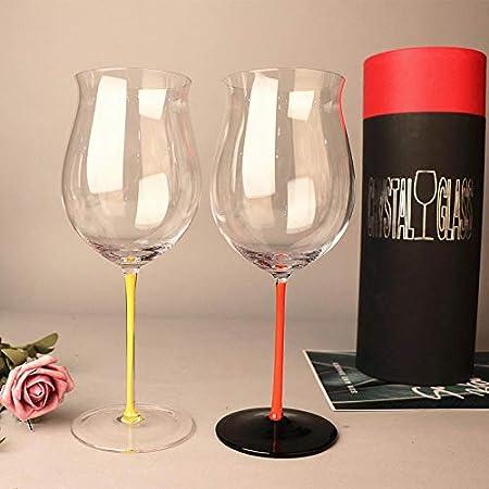 Copas De Vino Tintopajarita Negra De Alta Gama Copa De Vino Tinto Pajarita Roja Pajarita Verde Grito De Vino