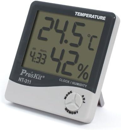 Calidad garantizada. Medidor de temperatura y humedad ambiental para interior