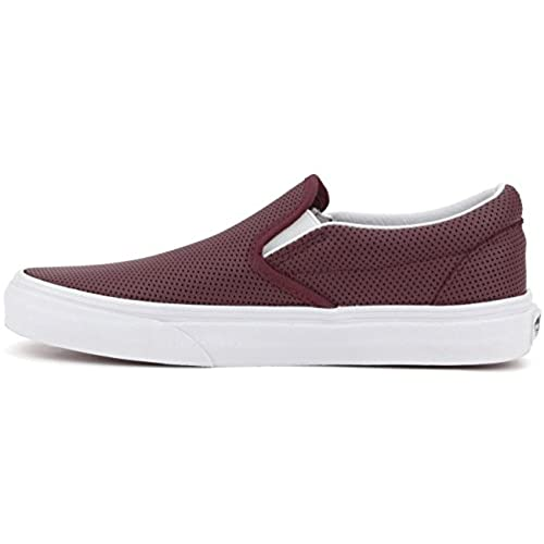 Vans Classic Slip-On Perf Leather Port Women s Shoes 12c75bceb