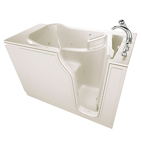American Standard SSA5230RD-BC Gelcoat Entry Series 52″ x 30″ Walk-In Bathtub with A ...