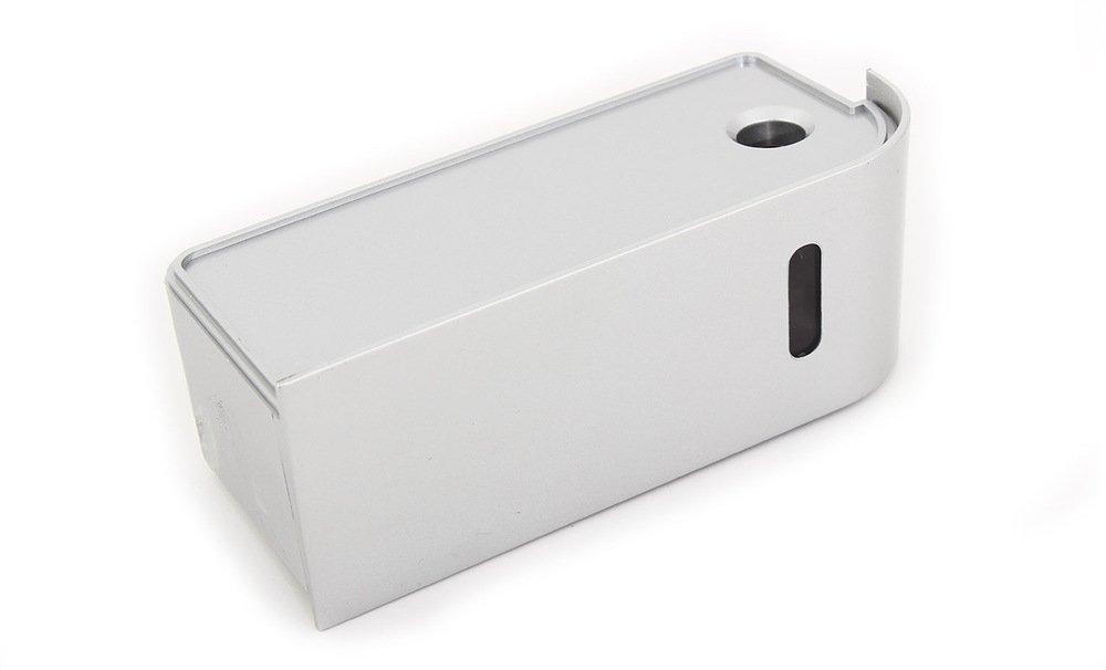 Secador de manos con filtro HEPA, UV de esterilización. y un seco suelo Sistema Jet Dryer Style rellenarse - más rápido y potente secador de manos - Plata: ...