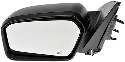Mercury Milan Sedan - APDTY 135751 Side View Mirror Assembly Fits Left Driver-Side Power Heated 2006-2012 Ford Fusion or Mercury Milan 4-Door Sedan (Power Heated Without Blind Spot; Replaces 6E5Z-17D743-AA, 6E5Z17683C)
