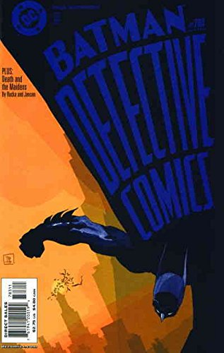 Detective Comics #783 VF/NM ; DC comic book
