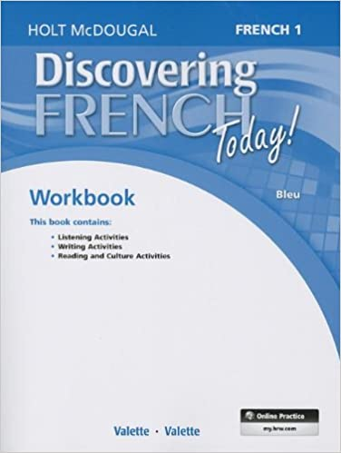 Discovering French Today Student Edition Workbook Level 1