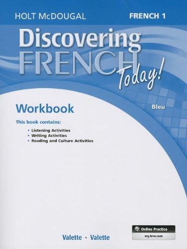 - Discovering French Today: Student Edition Workbook Level 1 (French Edition)