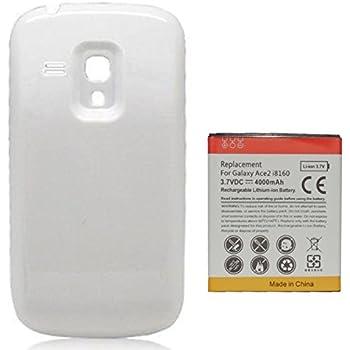 Amazon.com: 4800mAh Batería Extendida con Carcasa Blanca ...