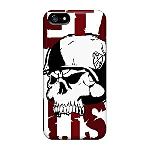 New Cute Funny Metal Mulisha Case Cover/ Iphone 5/5s Cases Covers