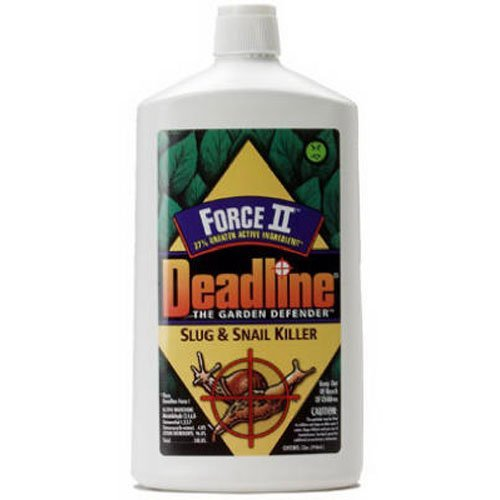 Deadline 000376 Force II Slug and Snail Killer, 1-Quart