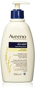 Aveeno Skin Relief Loción hidratante con manteca de karité para 300ml piel seca extremadamente