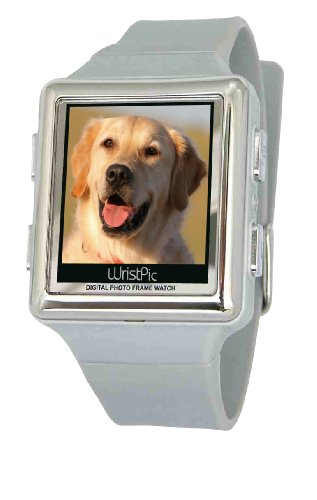 Nutec 96070-WH Wristpic Digital Photo Album White Watch