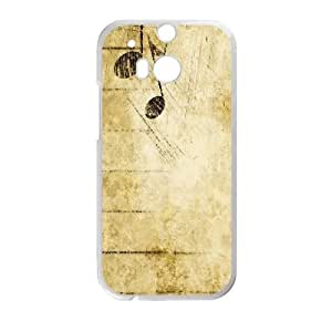 HTC One M8 Phone Cases White Vintage Paper FJo892489