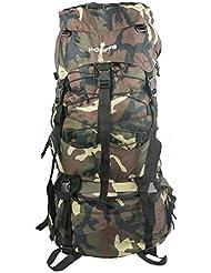 Wholesale Hiking Backpack Large Scout Camping Bag Rain Cover Bulk Case Lot 6pcs